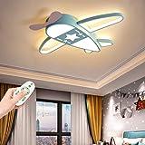 LED Avion Plafonnier Garçon Fille Enfant Lampe De Plafond Créatif Dessin Animé Protection Des Yeux Lumière Chambre D'enfants