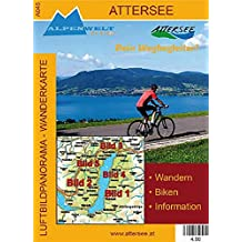 Luftbildpanorama - Wanderkarte - Attersee: Wandern - Biken - Information