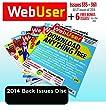 WebUser 2014 Back Issue Disc