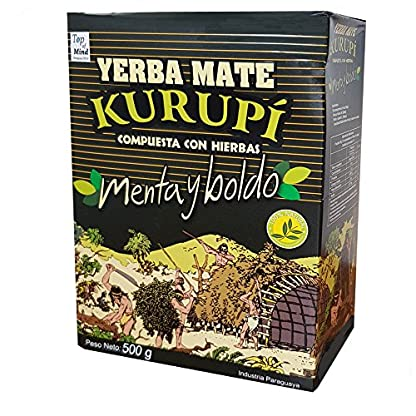 Kurupi-Compuesta-Especial-Menta-y-Boldo-Mate-Tee-aus-Paraguay-500g