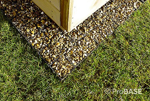 61b1q76yKcL - GARDEN SHED BASE 7ft x 5ft SYSTEM- 15 PROBASE GRIDS (Plastic)