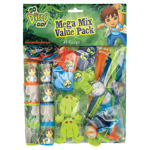 Diego's Biggest Rescue Mega Mix Value Pack Favors by Amscan