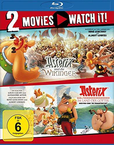Asterix und die Wikinger/Asterix im Land der Götter [Blu-ray]