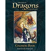 Dreams of Dragons & Dragon Kin Coloring Book