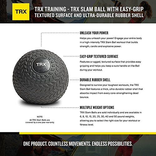Zoom IMG-1 trx training slam ball con