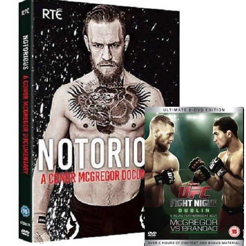 Conor McGregor Notorious UFC Fight Night McGregor Vs Brandao DVD Pack