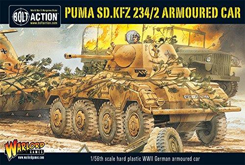 Bolt Action - Puma, SD.KFZ 234/2 Armoured Car - WGB.WM.506 -. Warlord Games