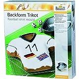 "Backform ""FUSSBALL TRIKOT"" in Geschenkbox MIT REZEPT"
