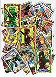 LEGO Ninjago Limitierte Goldkarten LE 3 Lloyd + LE 12 Krux + LE 18 Echo Zane + 40 Karten + 30 Schutzhüllen