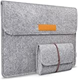 Inateck 13.3 Inch MacBook Air/ Pro Retina/ 12.9 Inch iPad Pro Case Cover Sleeve Ultrabook Netbook Carrying Protector Bag Envelope Case for 12.9 iPad Pro/ 13 Inch Apple Macbook Pro Retina/Macbook Air, Most 11-Inch Ultrabook Netbook, Grey