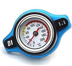 Hemore Automotive 0.9bar 1.1bar auto tappo del radiatore + temperatura dell' acqua auto Refitting auto veicolo di
