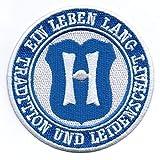 Aufnäher/Bügelbild / Abzeichen/Iron on Patch/Sew Tradition und Leidenschaft