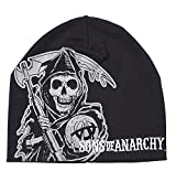 Sons Of Anarchy Reaper Embroidered Logo Chapeau De Bonnet
