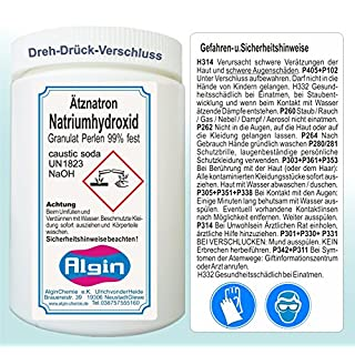 Ätznatron Natriumhydroxid NaOH 1kg Dose