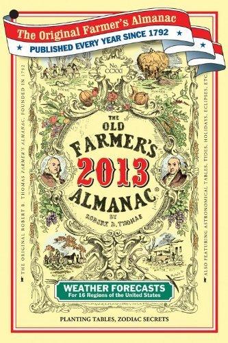 The Old Farmer's Almanac 2013 by Almanac, Old Farmer?s (2012) Paperback