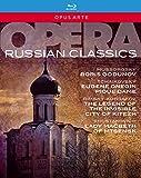 Opera Russian Classics. Boris Godounov, Eugène Onéguine, La Dame de Pique, La légende de Kitège, Lady Macbeth. [Blu-ray]