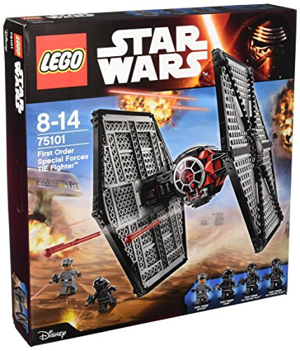 Lego 75101 - Star Wars First Order Special Forces TIE Fighter (Kunststoff-modell-kits Flugzeuge)
