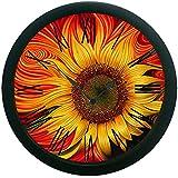 MeSleep Sun Flower 3D Wall Clock (With Glass)