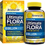 Ultimate Flora Critical Care, Extra-Strength Probiotic, 50 Billion Live Cultures Per Capsule (60 Capsules)