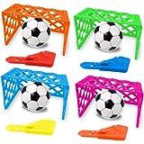 German Trendseller 24 x Tore Klicker - Fussball - Tip Kick - Set ┃ Fussball Spiel ┃ Kindergeburtstag ┃ Mitgebsel ┃ 24 Fußball - Spiele