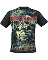 Iron Maiden Aces High T-Shirt schwarz
