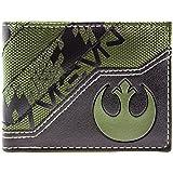 Star Wars Rogue One Alliance Logo Grün Portemonnaie Geldbörse