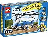 LEGO 66427 City Polizei Hubschrauber 4 in 1 Superpack / Set (4436 + 4437 + 4439 + 4441) - LEGO