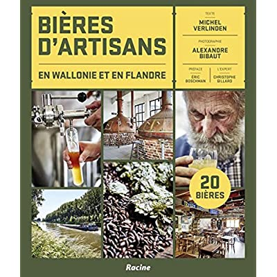 Bières d'artisans en Wallonie et en Flandres