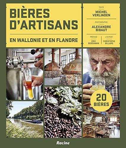 Bières d'artisans en Wallonie et en Flandres par Michel Verlinden
