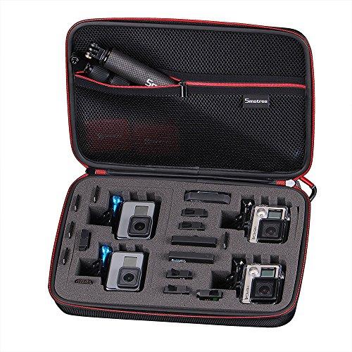 Galleria fotografica Smatree Smacase G360 Custodia per GoPro Hero 6,5,4,3,3+,2,1-(Fotocamera e Accessori non inclusi)
