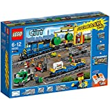 LEGO CITY TRAIN 66493 SUPER PACK 4 EN 1 (60052 + 7499 + 7895 + 60050) INCLUS LE TRAIN + 2 BOITE DE RAILS + LA GARE