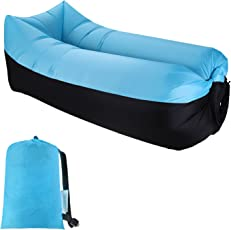 Sable Luftsofa Air Sofa Wasserdichtes aufblasbares Sofa mit Tragetasche, Optimales Luft Sofa Couch für Reisen, Campen, Hinterhofgrillen, Strand, Innen- und Außennutzung