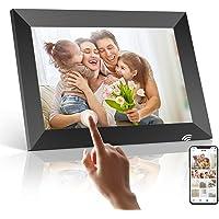 Digitaler Bilderrahmen WLAN, PODOOR Touch Elektronischer Bilderrahmen 8 Zoll Smart Fotorahmen 1080P mit 16 GB Speicher…