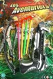 Armbrust + 4 Pfeile Pfeilpistole 19X22,5 cm