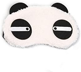 24x7 eMall Panda Design Cartoon Blindfold Eyes Cover for Relax and Proper Sleep