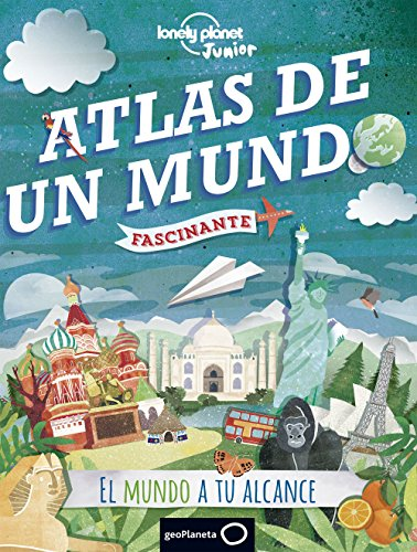Atlas de un mundo fascinante (Lonely Planet Junior) por Philip Steele