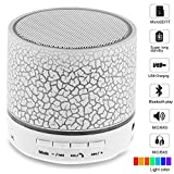 #6: Drumstone A9 Smart Led Crack Mini Portable Bluetooth Speaker Supported Tf Card/USB Flash Drive/Fm for Mi Redmi Note 5, iPhone 8 Mobile