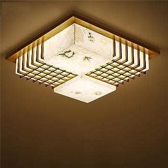 ZHANGRONG Gute Qualitt Einfache Holzdecke Wohnzimmer Lampe Schlafzimmer Studie Kreative Japanischen Koreanischen LED Beleuchtung Holz