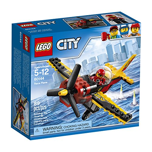 LEGO City Great Vehicles Race Plane 60144 Building Kit  available at amazon for Rs.2068