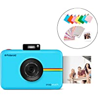 Polaroid SNAP Touch 2.0 13MP Tragbare Digitale Sofortbildkamera mit LCD Touchscreen Display, Zink Null Tinte Drucke 2x3, Blau