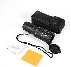Fastuu Teleskop Taschenteleskop 40 X 60 Hd Monokular Für Wildlife Hunting Camping Sport Freizeit