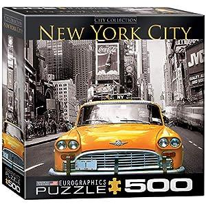 Euro Gráficos Puzzle 500 Pc York - Yellow Cab (MO) - (EG85000657)