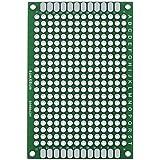 eBoot 30 Piezas Placa de Circuito Impreso de Prototipo Placa PCB de Doble Cara para DIY, 4 cm x 6 cm (1.6 x 2.4 Pulgadas)