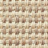 Teppichboden Auslegware | Sisal | 400 cm Breite | natur weiss | Meterware, diverse Längen, Variante: 2 x 4m
