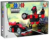 Clics AB001 - Robo Racers 2 in 1, rot