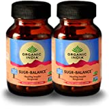 Organic India Sugar Balance 60 Capsules Bottle- (Pack Of 2)