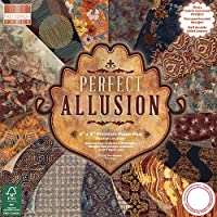 Premium Craft Cardstock First Edition 8x8 Designer Paper Pad - Perfect Allusion
