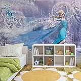 Disney Eiskönigin Elsa - Forwall - Fototapete - Tapete - Fotomural - Mural Wandbild - (1633WM) - XL - 208cm x 146cm - VLIES (EasyInstall) - 2 Pieces