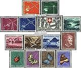 Suisse 566-579 (complète.Edition.) Volume 1952 complèteett 1952 actualités, Juventute, Patria (Timbres pour Les collectionneurs)...