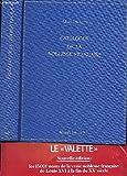 Catalogue de la noblesse française